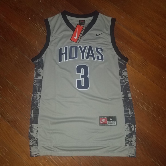 new style 4f623 5e384 Georgetown Hoyas Allen Iverson Jersey #3 NWT
